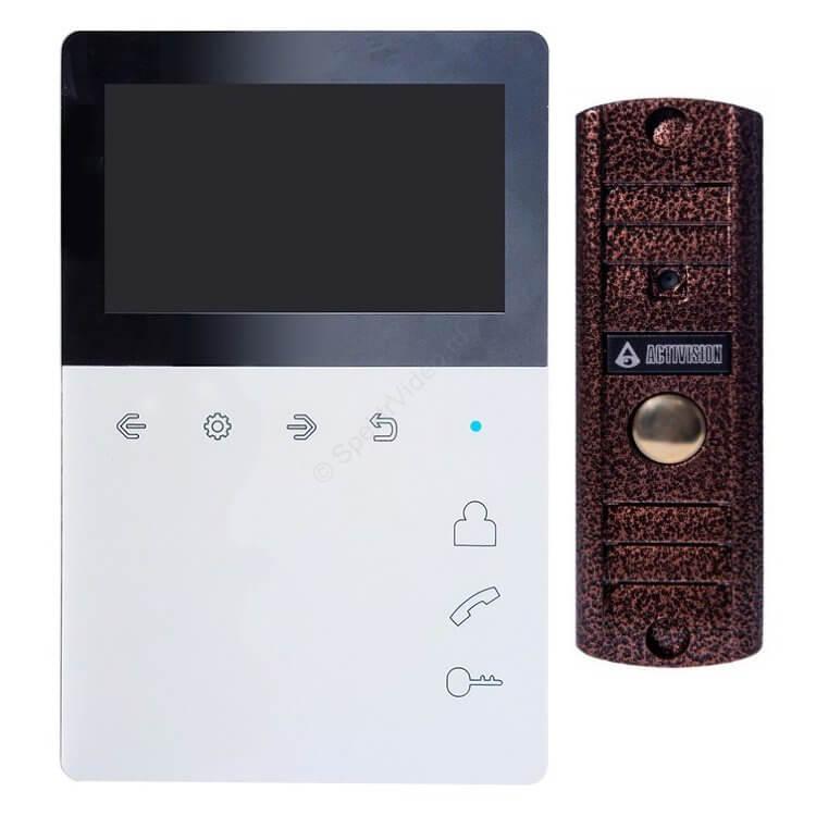 комплект бюджетного видеодомофона